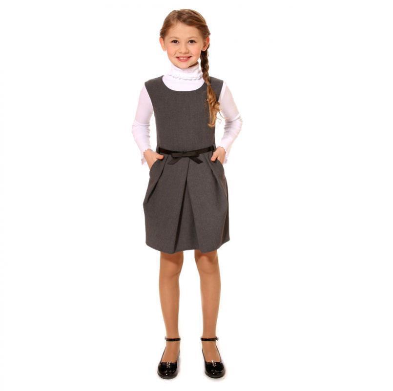 Базовый гардероб девочки для школы