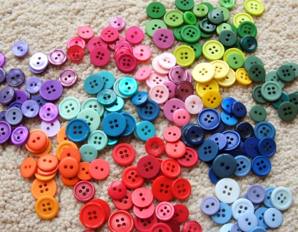 Сортировка предметов по цвету