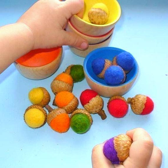 Игры для детей на изучение цветов