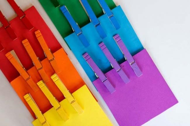 Учим цвета радуги