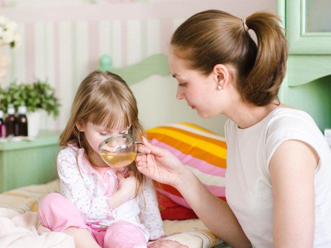Простуда или грипп у ребенка