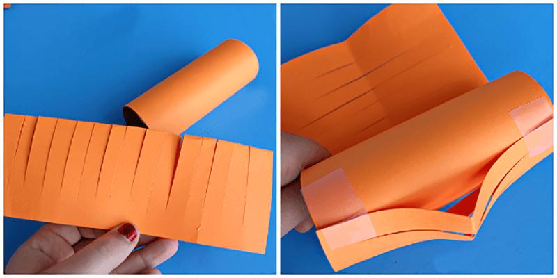 Как сделать бумажный фонарик