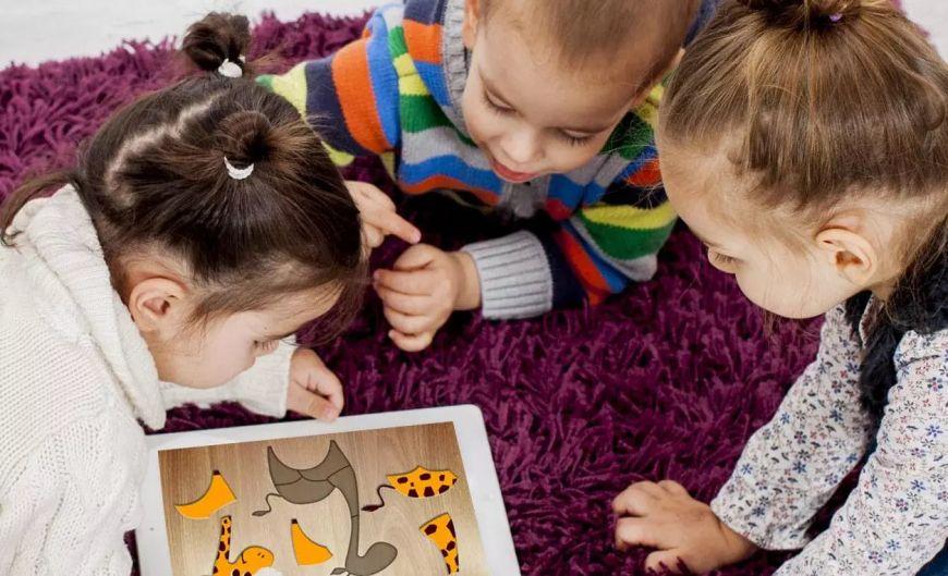 Мобильное приложение 384 головоломки для детей