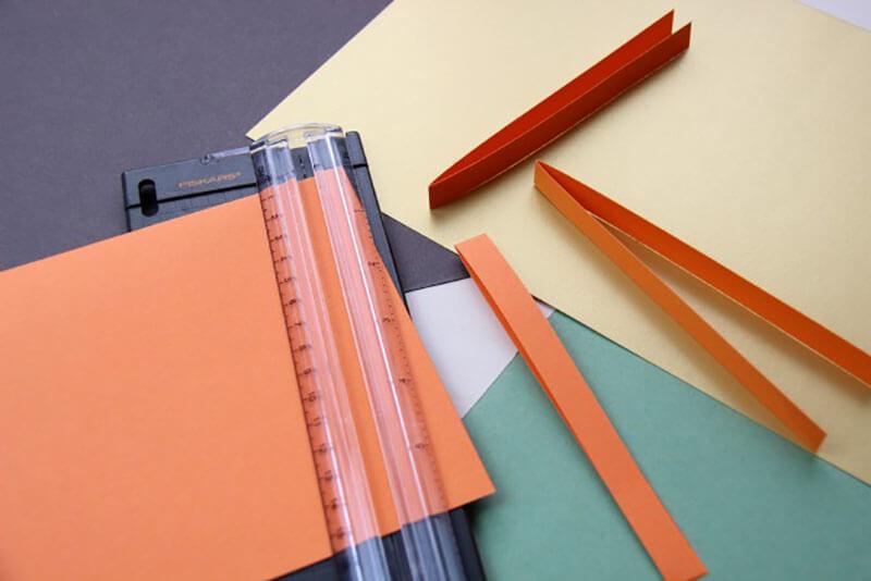 Полоски для бумажной тыквы