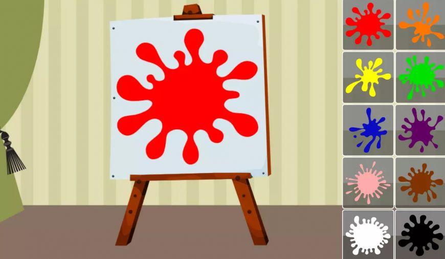 Мобильное приложение Учим цвета