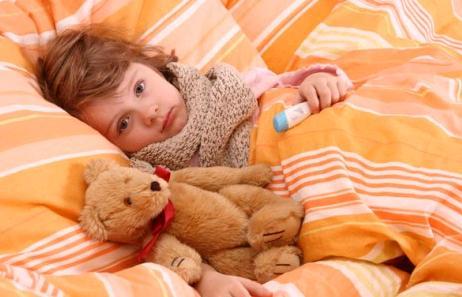 Поведение родителей при простуде у ребенка
