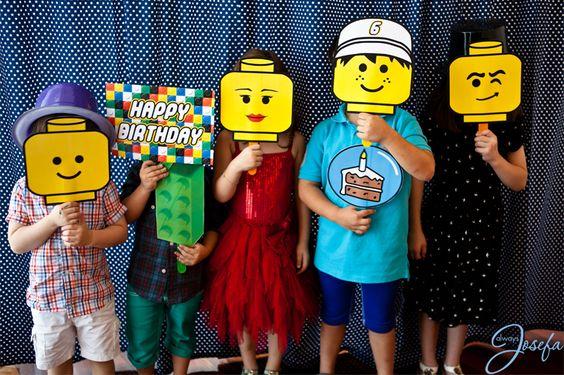 День Рождения с конструктором Лего