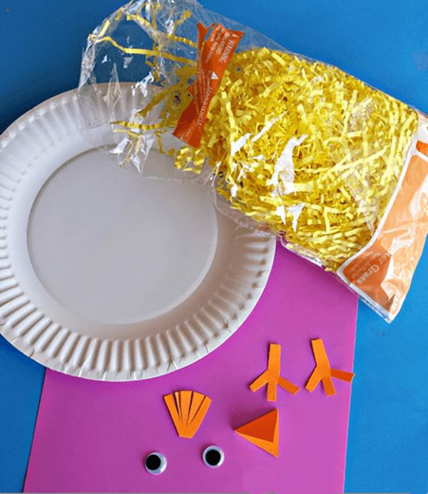 Новогодняя поделка для детей Петушок