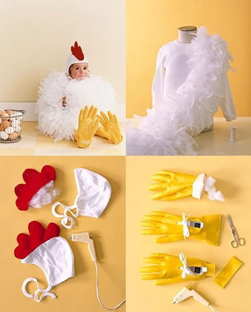 Новогодний костюм Петуха своими руками