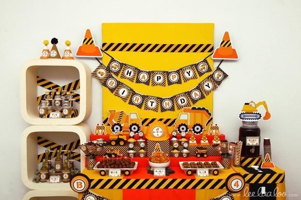 Детский день рождения в стиле Лего