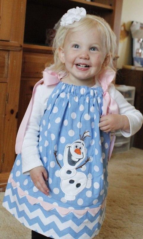 Детское платье с Олофом