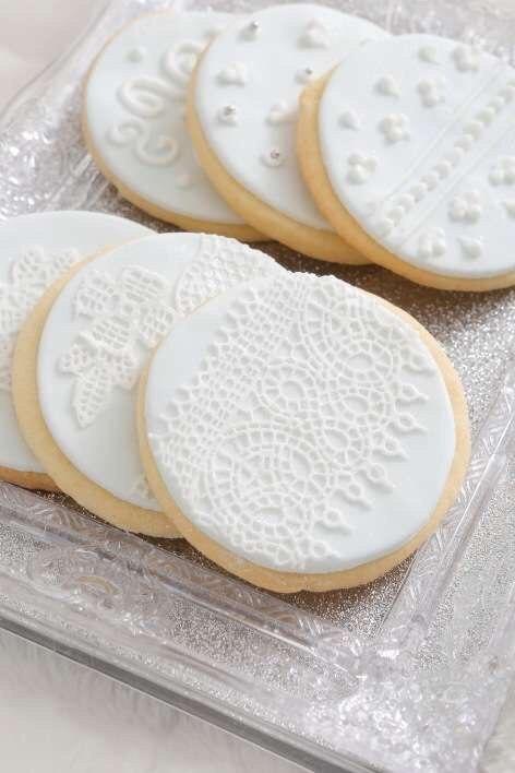 Печенье с зимними мотивами