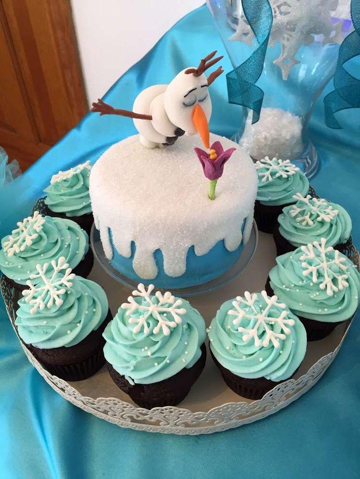 Детский торт с Олофом