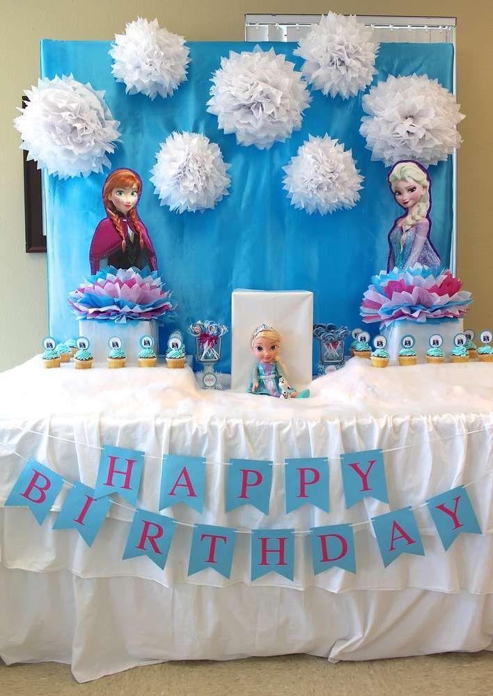 Детский день рождения в стиле Frozen