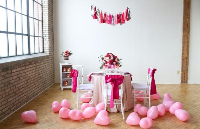 Украшаем детский праздник в розовых тонах