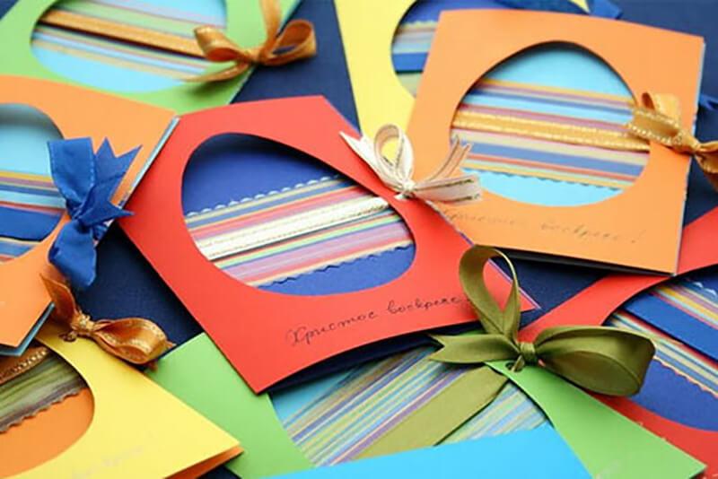 Идеи пасхальных открыток своими руками
