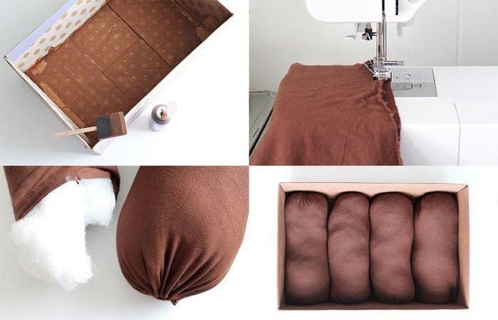 Текстильная грядка для детей