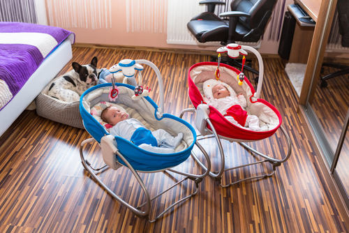 качели для новорожденного ребенка