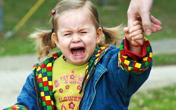 Причина детской истерики