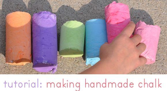 Мелки для детей своими руками