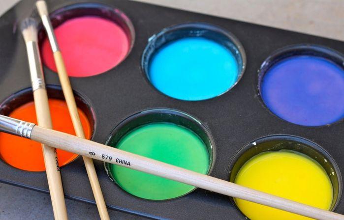 Экологичные краски для рисования на асфальте