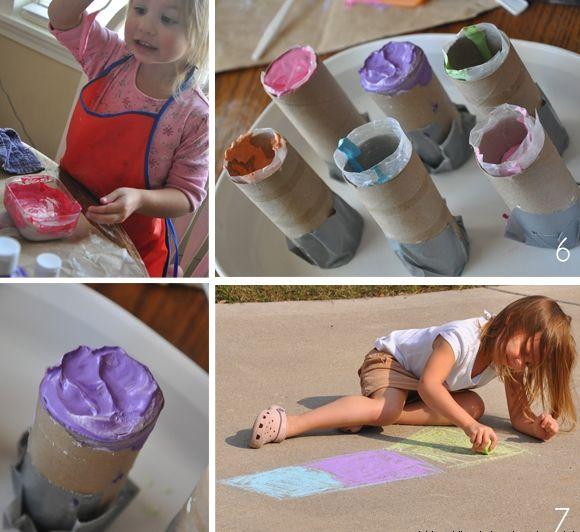 Рецепт детских мелков для рисования