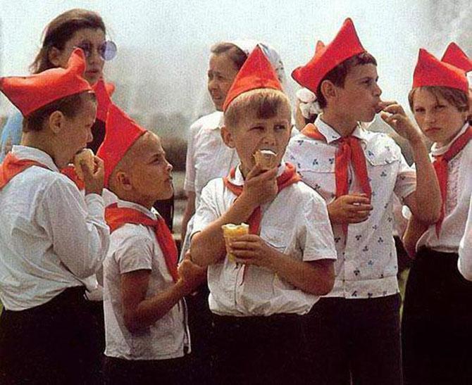 Мороженное в СССР