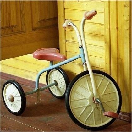 Советский трехколесный велосипед