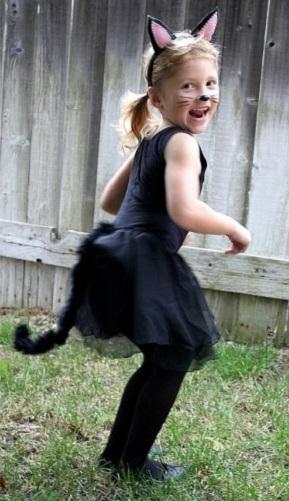 Детский костюм кошечки своими руками