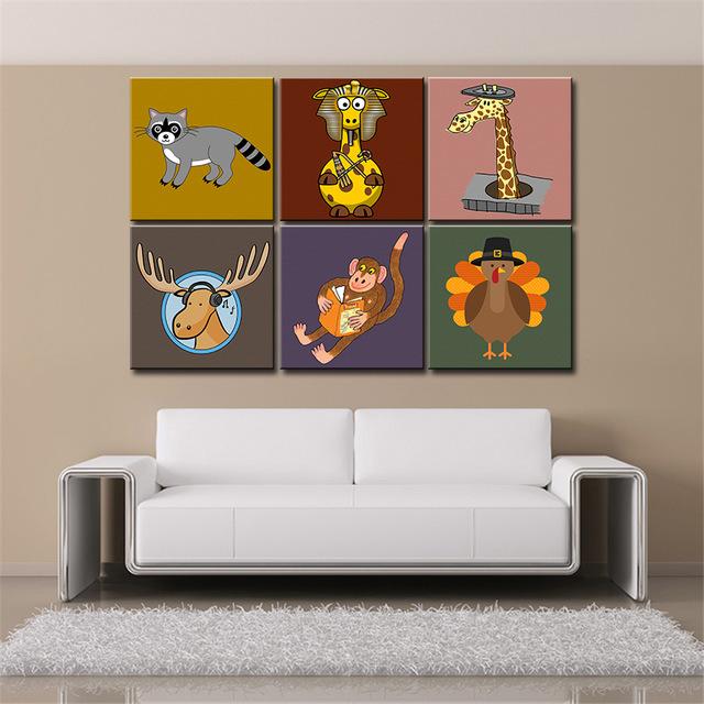 Яркие картины с животными