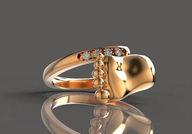 Золотое кольцо для мамы