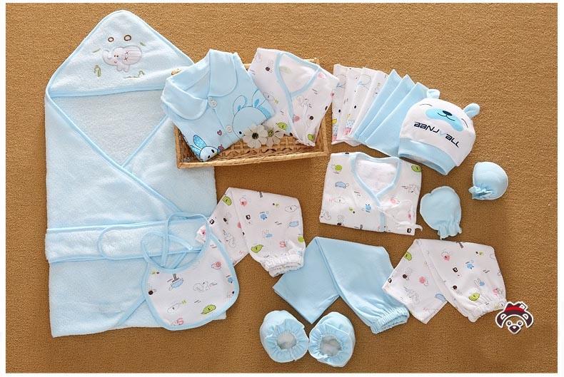 Комплект для новорожденного из 21 элемента