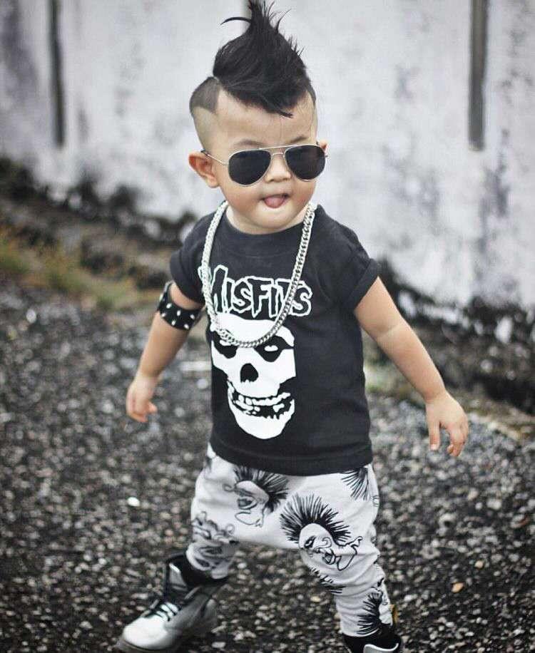 Костюм для мальчика в стиле панк
