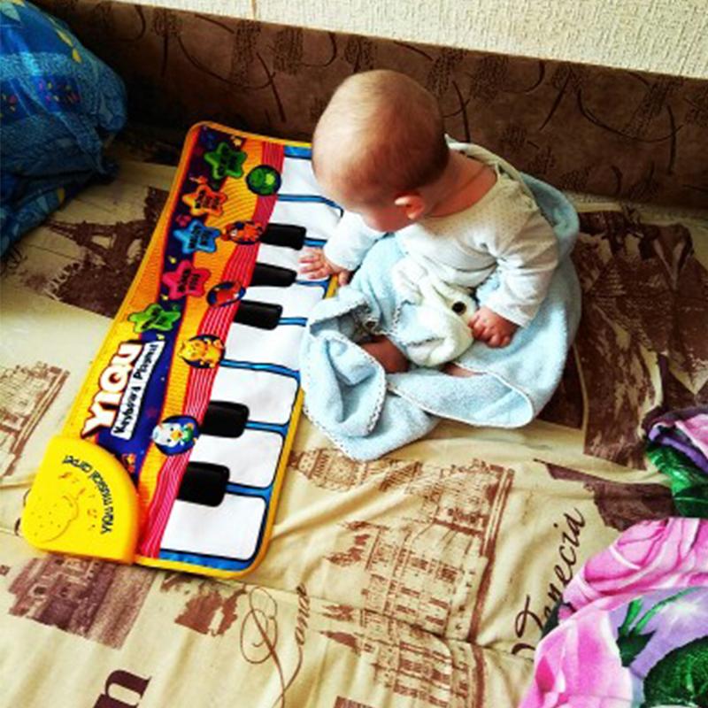 Пианино-коврик