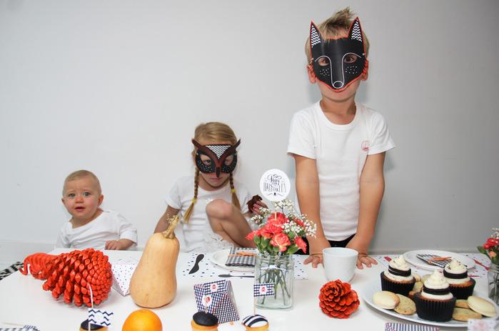 Как украсить стол для детского Хэллоуина