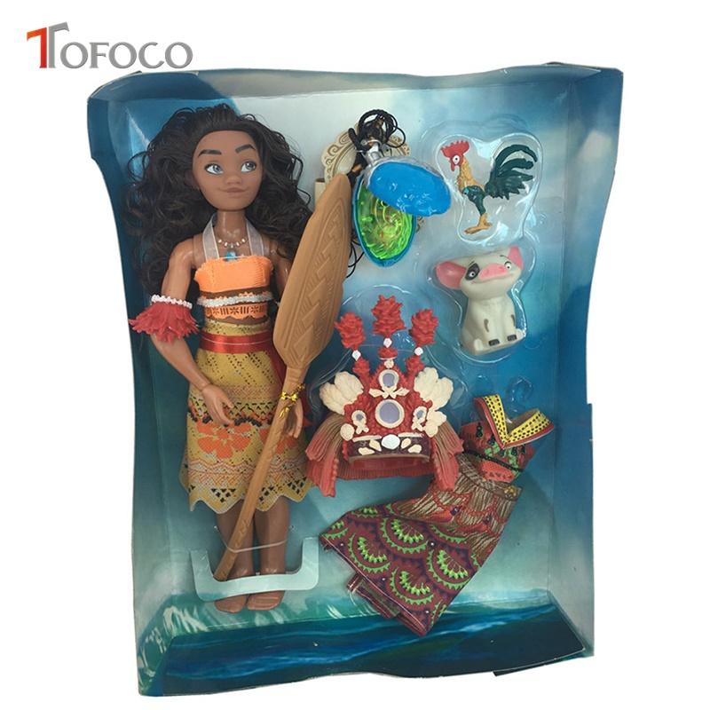 Игровой набор с куклой Моаной