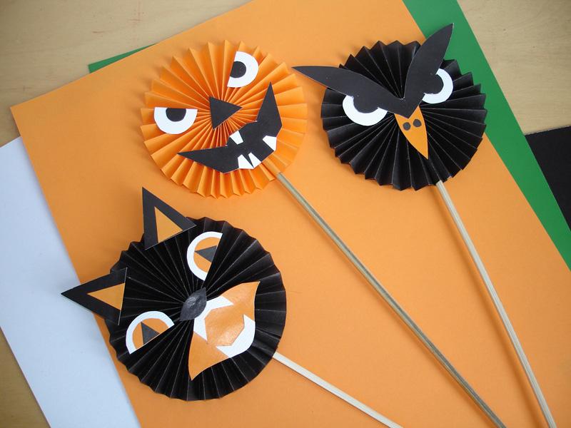 Поделки для детей к Хэллоуину