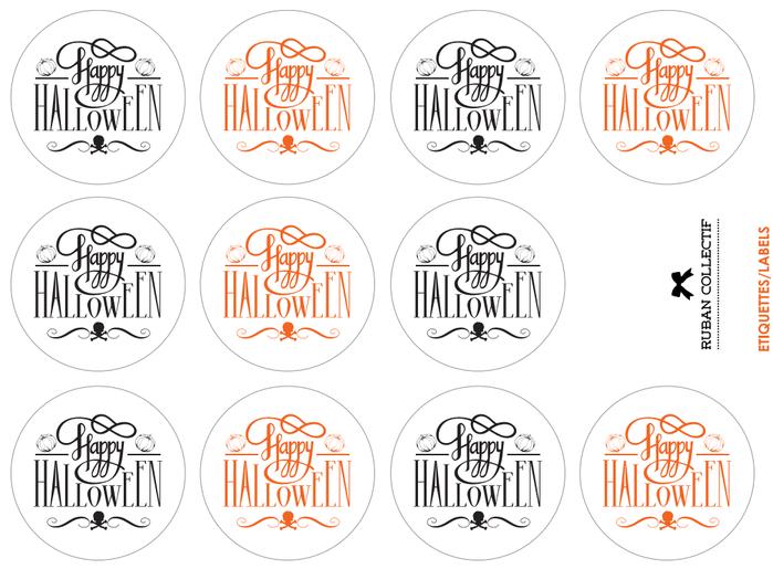 Топпинги на Хэллоуин шаблоны