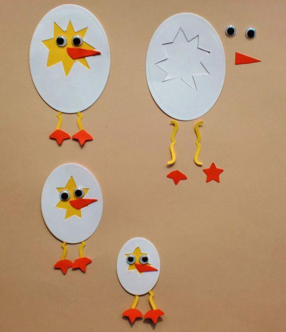 Оригинальные открытки с цыпленком