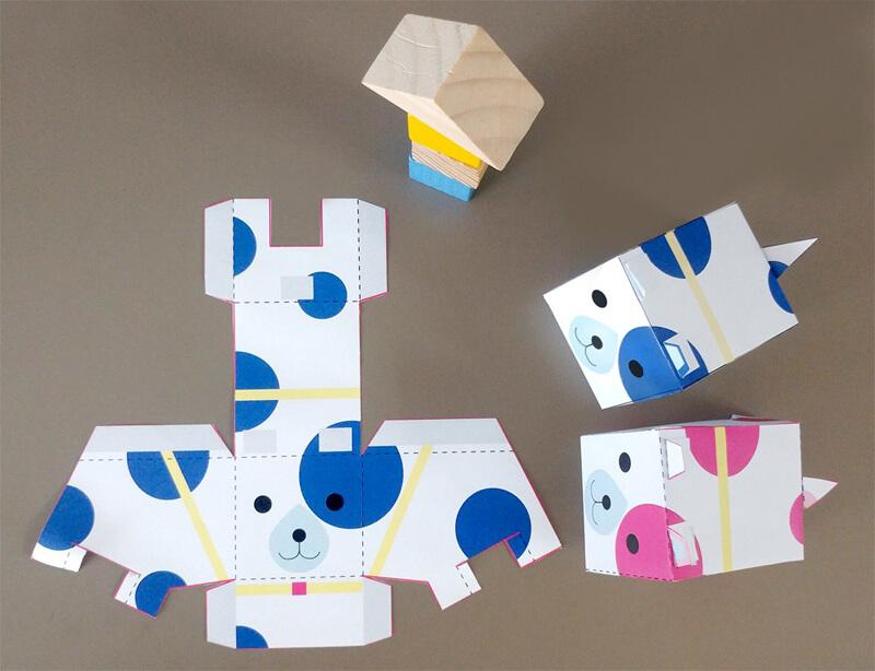 Как сделать щенка из бумаги своими руками?