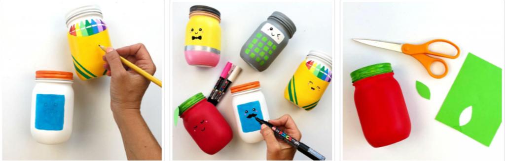 Подставки для ручек и карандашей