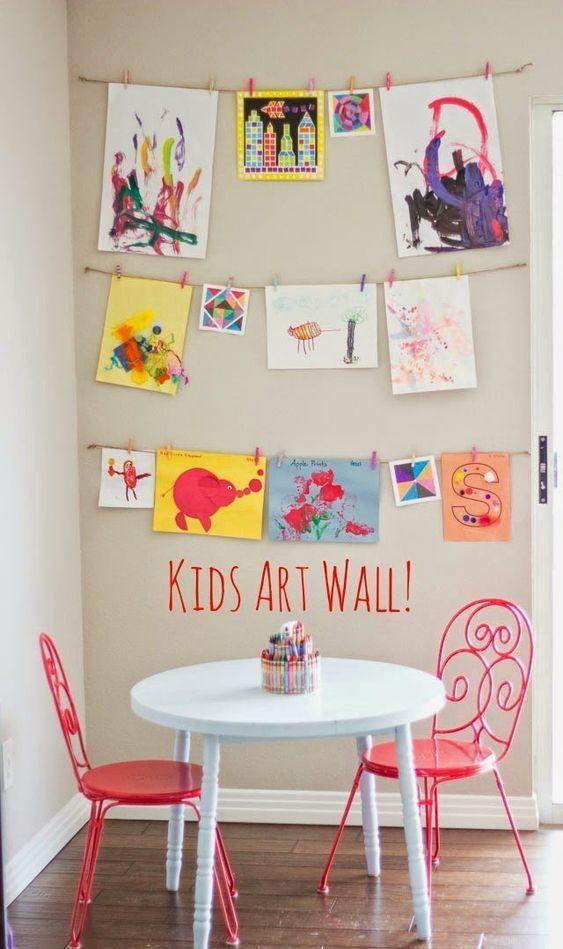 Детская стена творчества