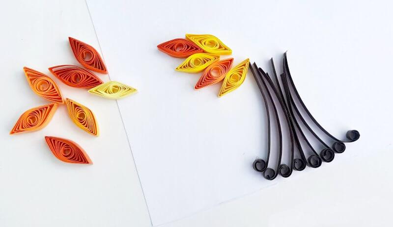 Осенняя открытка своими руками