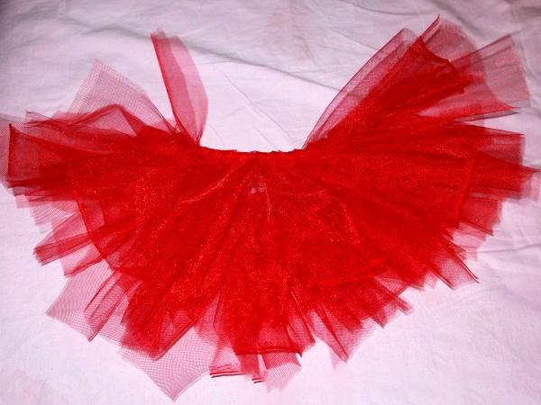 Юбка из фатина для карнавального костюма