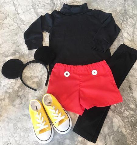 Детский костюм Микки Мауса своими руками