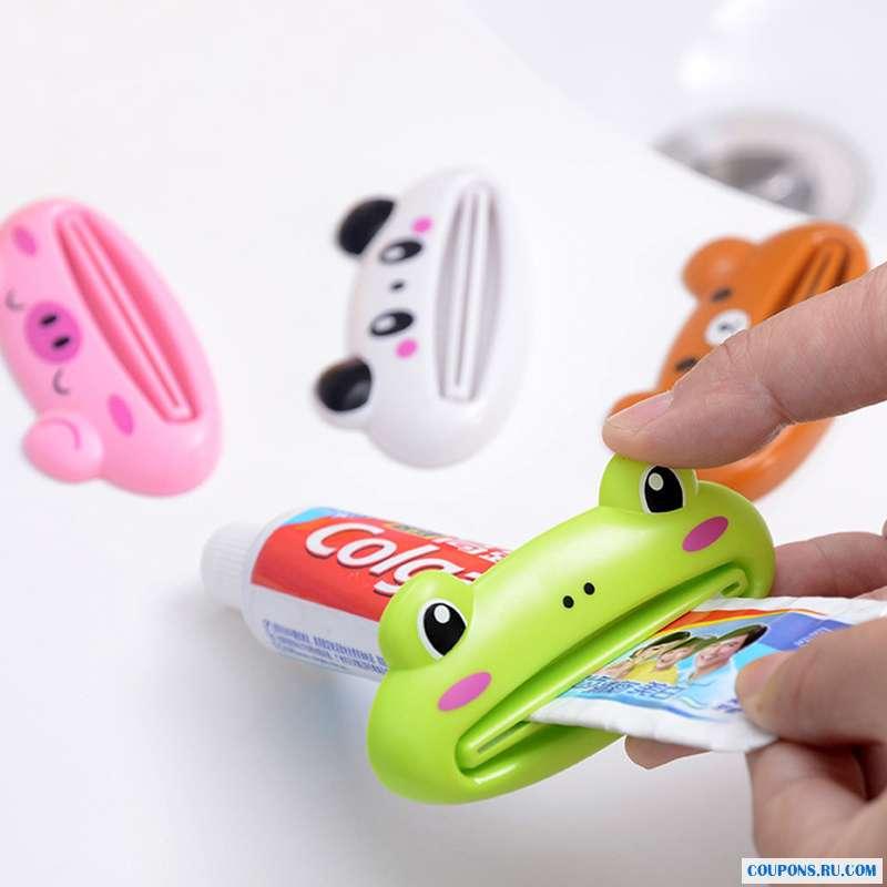 Зажим для зубной пасты
