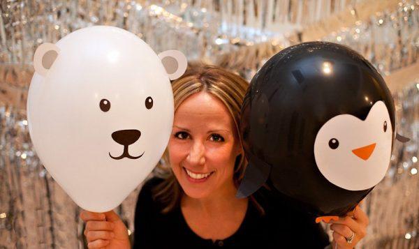 Детский день рождения украшаем шарами