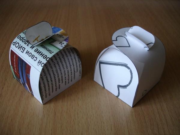 Подарочные коробочки своими руками за 5 минут