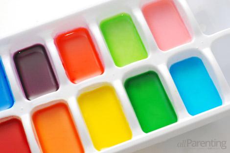 Краски для детей своими руками