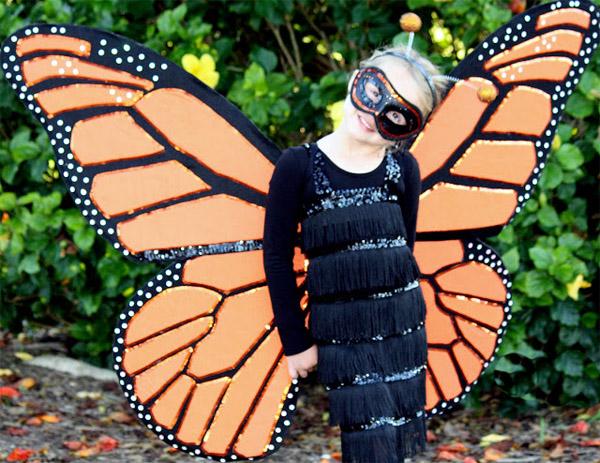 Детский костюм бабочки своими руками